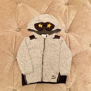 Zara Toddler Boys Knit Zip-up